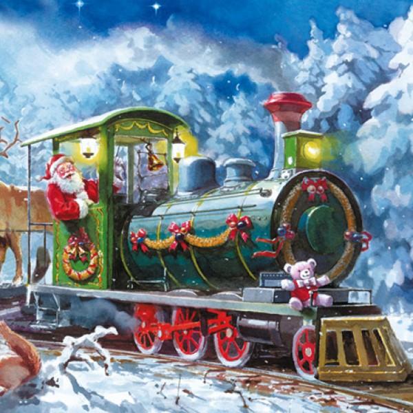 Поздравление с новым годом поезда