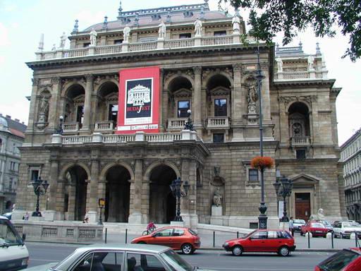 Будапешт. Опера