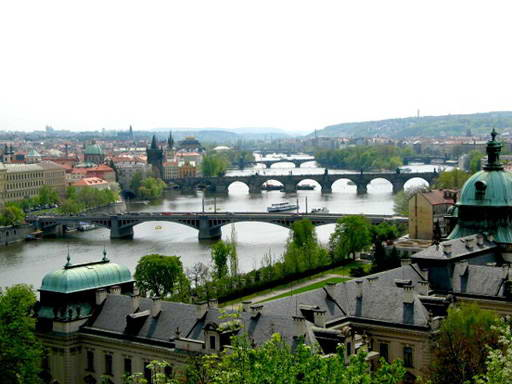 Чехия: мосты